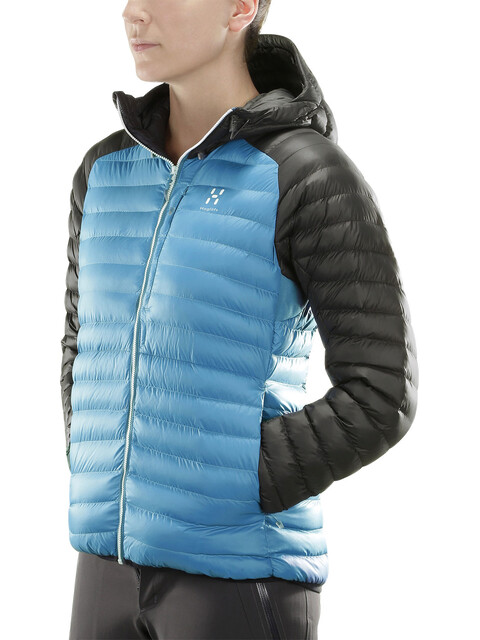 Haglöfs Essens Mimic Hood Women Blue Fox/Slate